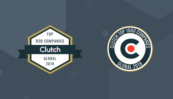 Clutch Recognizes Kohactive as a 2018 Global Leader!